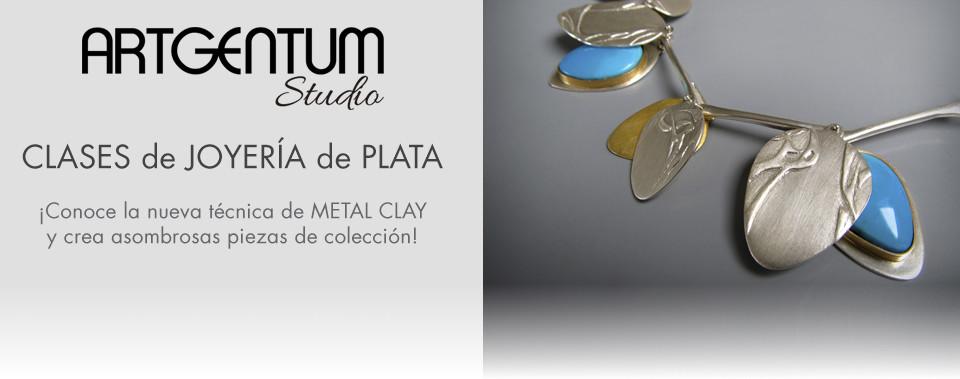 Clases de joyería con plata moldeable Art Clay